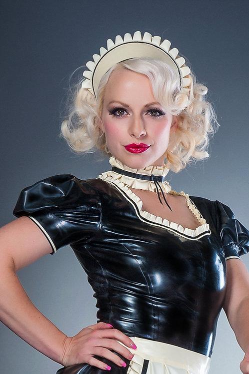 Latex French Maid Choker