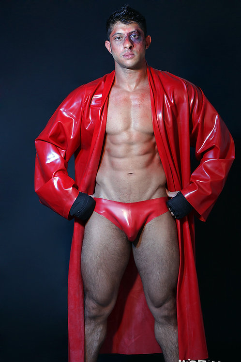 Rubber Dressing Gown for Him