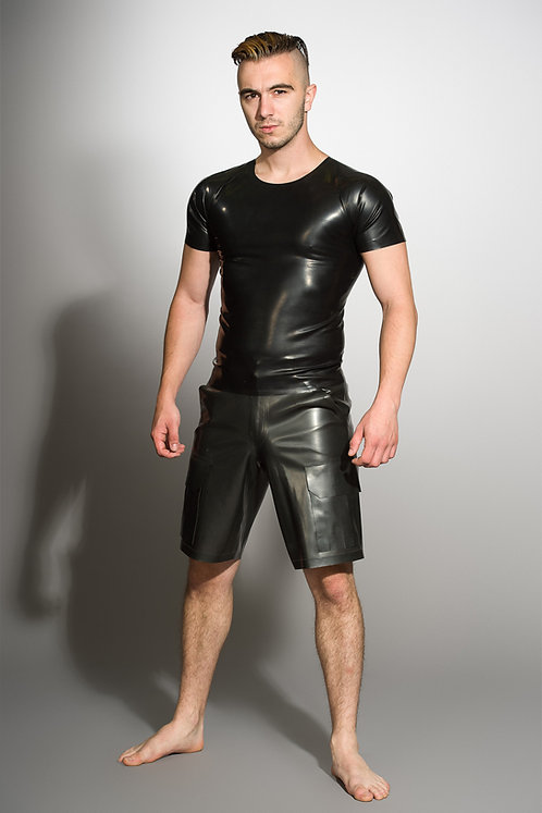 Latex Combat Shorts