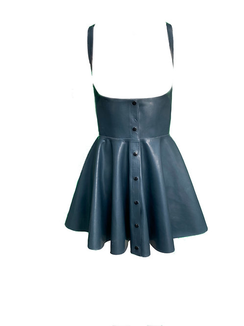 Latex Peek-a-boo Dress