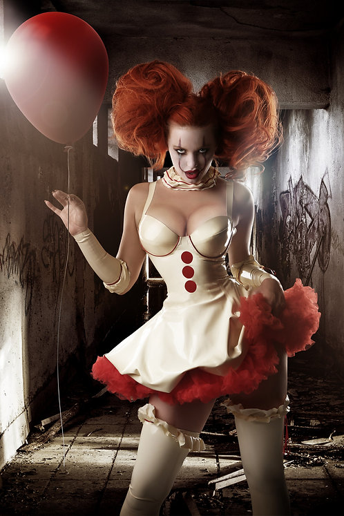 Latex Pennywise-inspired Full Set