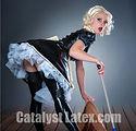Latex French Maid Dress