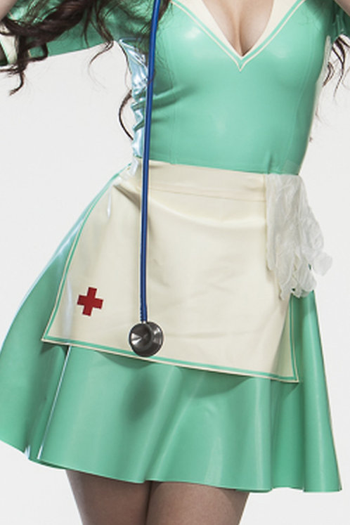 Latex Vintage Nurse Apron