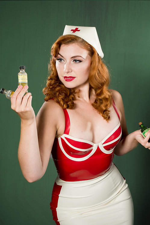 Rubber Nurse Hat