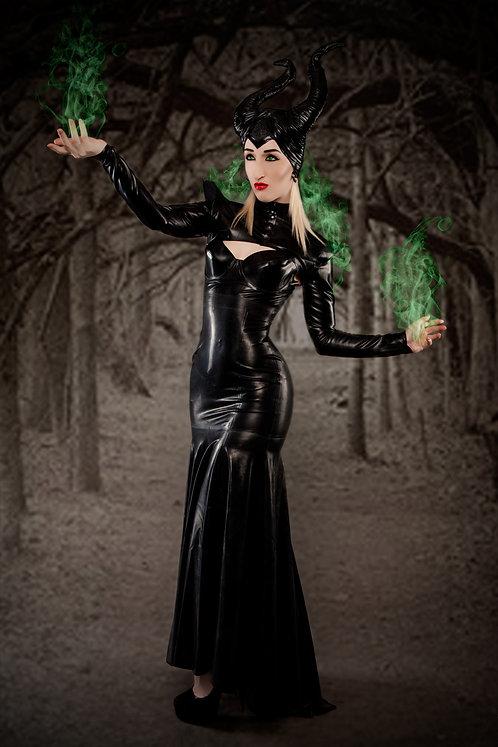 Latex Maleficent Set