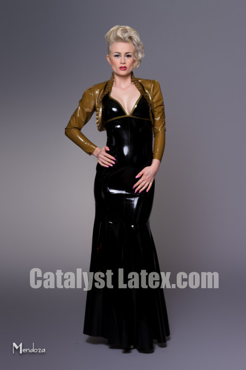 Latex Ball Gown