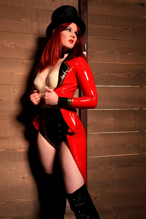 Latex Ringmaster Jacket
