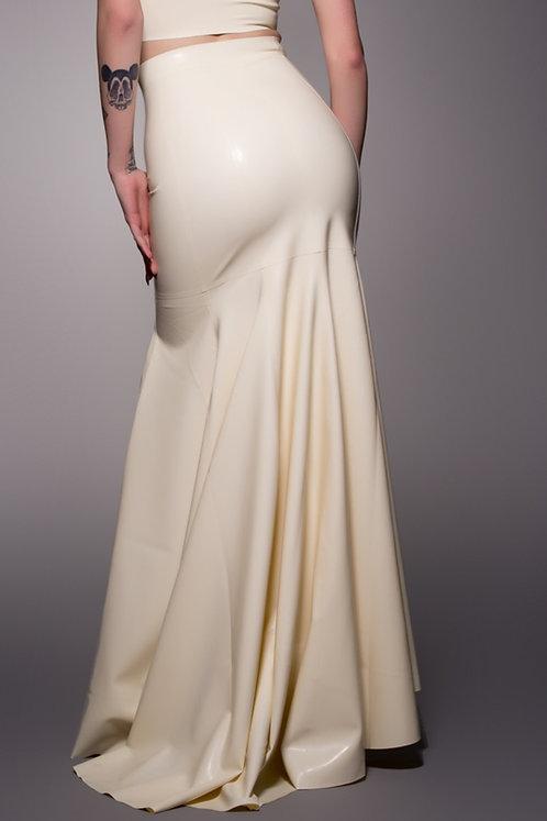Latex Fishtail Skirt