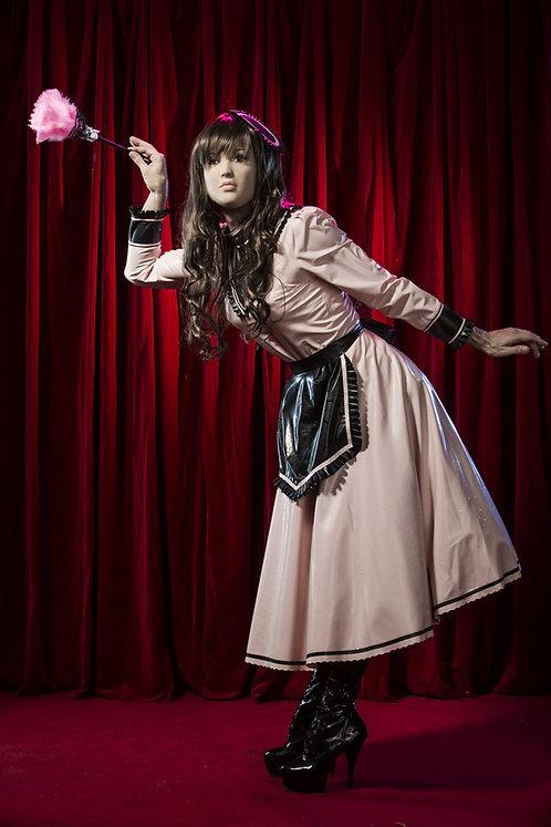 Latex Sissy Maid Dress