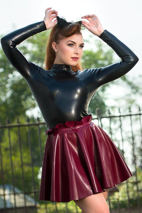 Latex Paper Bag Skirt