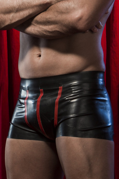 Latex Trimmed Pouch Boxers