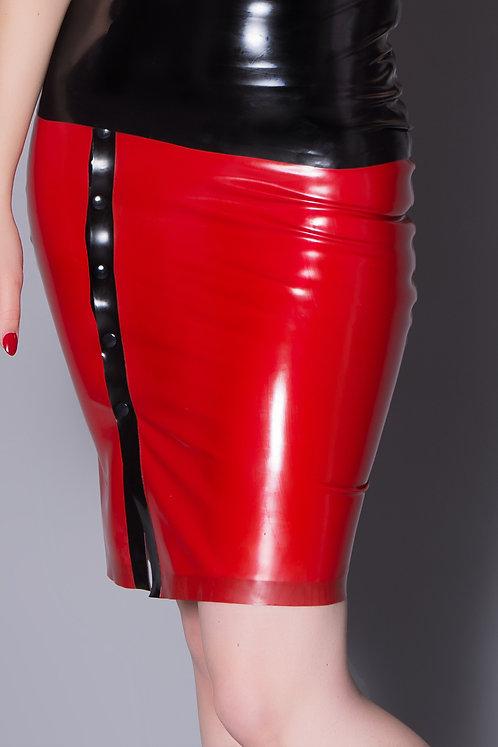 Latex Popper Skirt