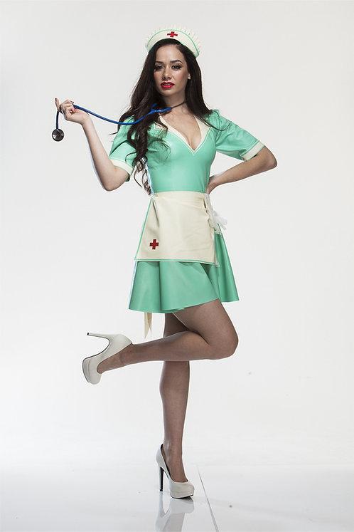 Latex Nurse Dress