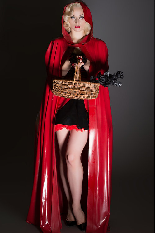Latex Red Riding Hood insp.