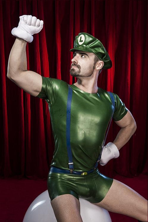 Latex Luigi Set