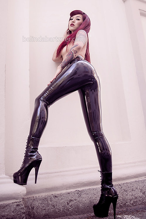 Latex Skinny Jeans