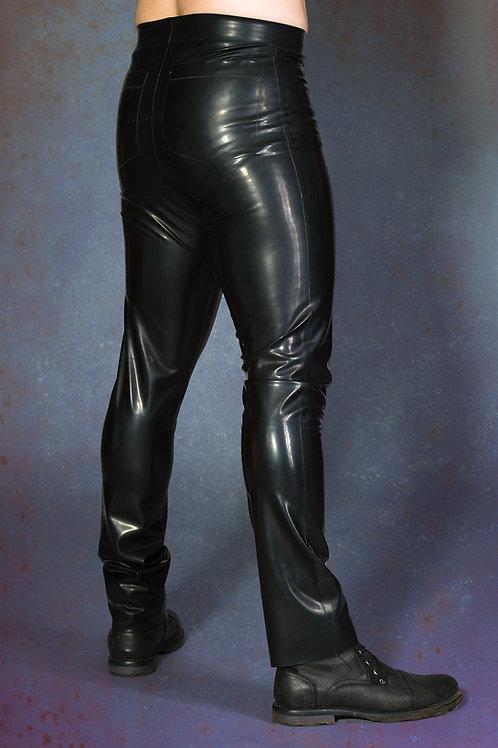 Latex Slim Fit Trousers