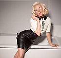Latex Pin Up Connie Dress