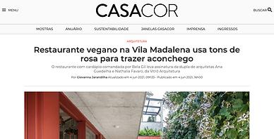 CASA COR Vitrô Arquitetura Camélia òdòdó
