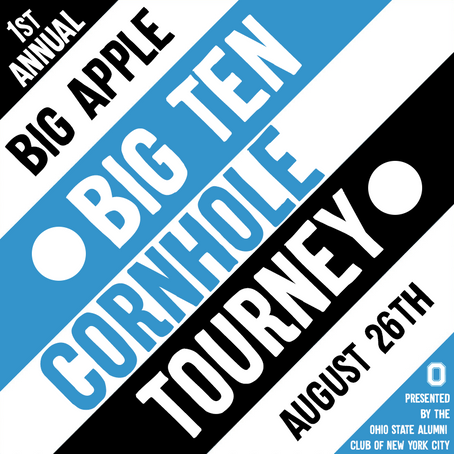 1st Annual Big Apple Big 10 Cornhole Tournament