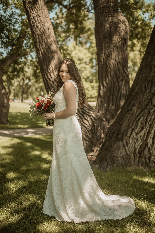 Bride. Wedding Dress. Wedding. Wedding photography. Minot. North Dakota Wedding.