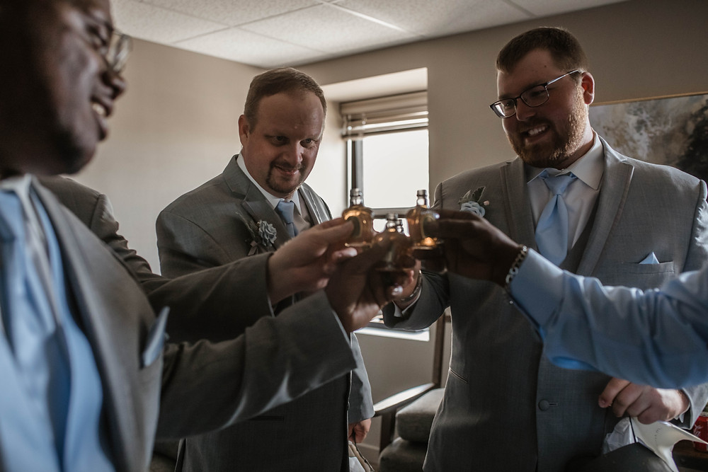 Groom. Getting ready. Shots. Wedding Day. Wedding. Wedding Photography. Downtown Wedding. Chicago Wedding. North Dakota Wedding. Wyoming Wedding. Colorado Wedding.
