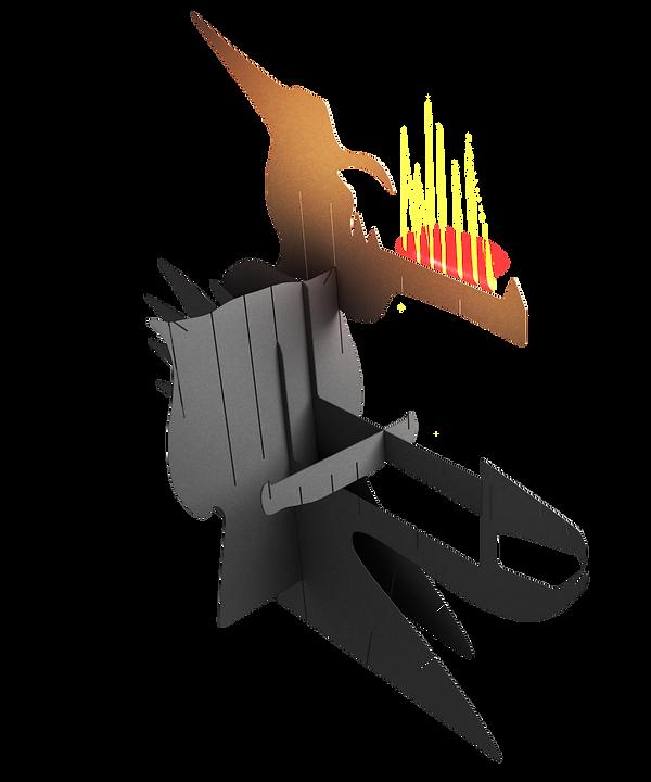 Манга-дракон, дракон, мангал кпить, декоративный мангал, мангал дым, сборный мангал, мангал-конструктор, мангал животное,