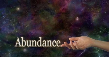 Focus on abundance not on lack