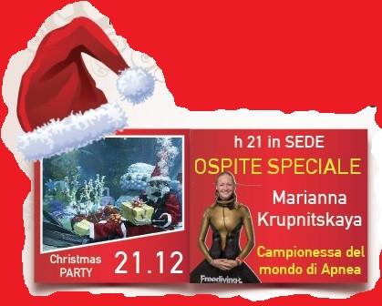 X-mas party con Marianna Krupnitskaya