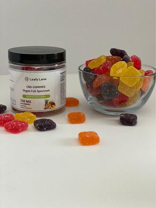 750mg Full Spectrum Gummy Squares