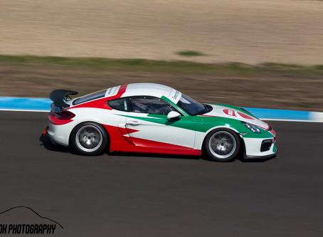 Amigos lusos de Porsche em Barcelona