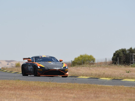 Pires and Silva share GT4 South European Series poles at Jarama