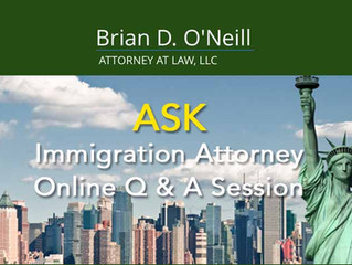FREE ONLINE Q&A CONSULTATION WITH BRIAN O'NEILL