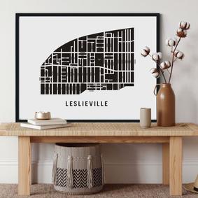 Leslieville Neighbourhood Map.png