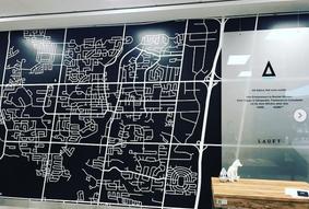 Lauft map