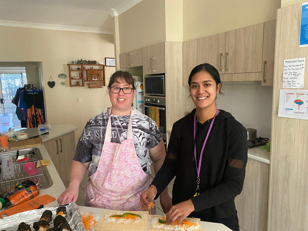 Home Cooking SIL with ISA
