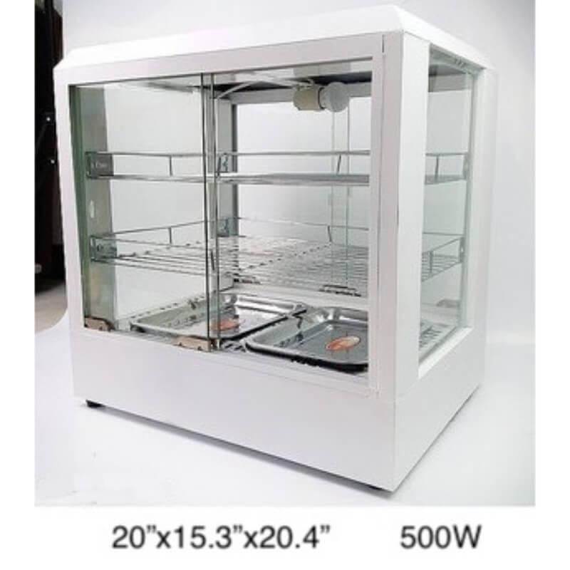 Waming display case