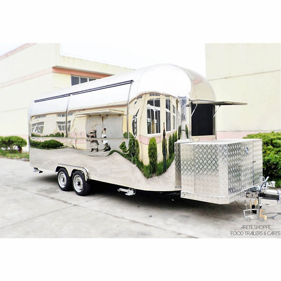 THE STREAMLINER® - 19 Ft. Vending Trailer