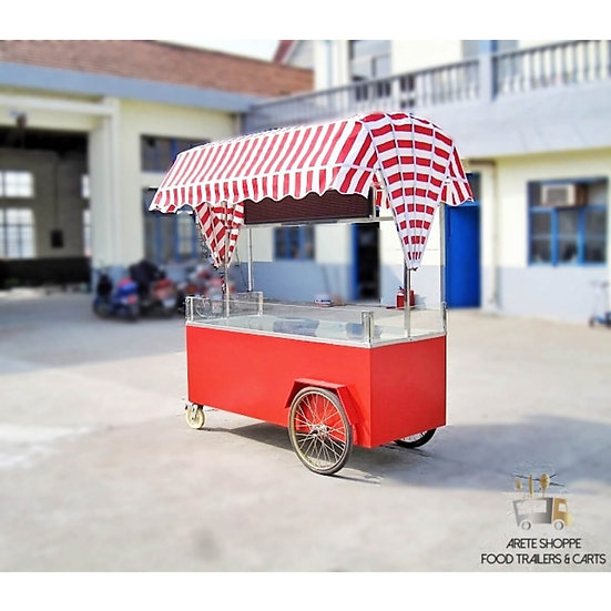 The Push Mini - 6.5 ft Vending Cart