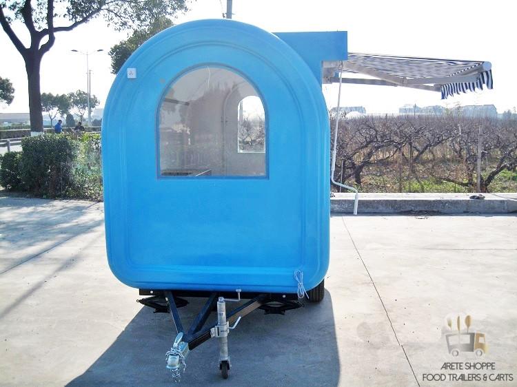 Canvas cart awning