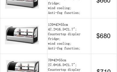 Cooling display
