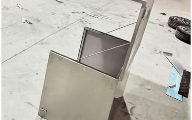 steel food cart box for generator.jpg