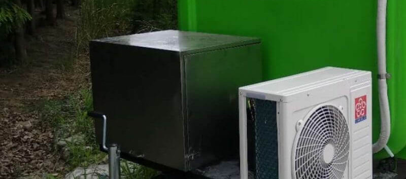 Steel Generator Box for food trailer for