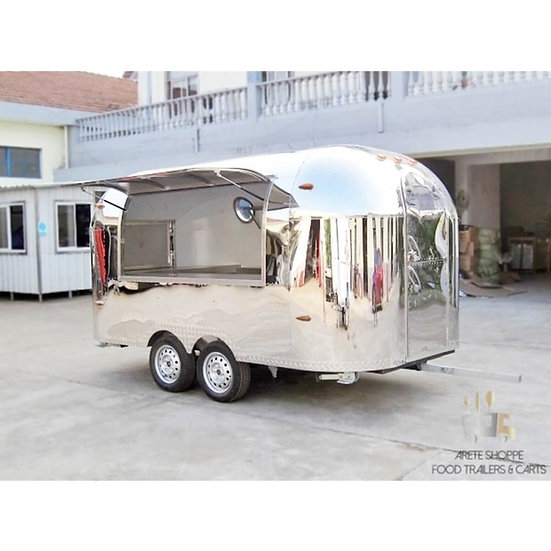 THE STREAMLINER - 12.4 Ft. Vending Trailer