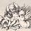 Thumbnail: Großes Geschenkset: Holztruhe mit 2 Gelees oder Marmeladen
