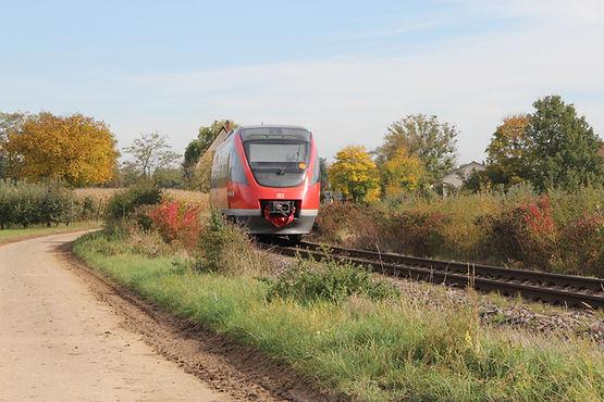 Bahnlinie führt nach Kapellen-Drusweiler
