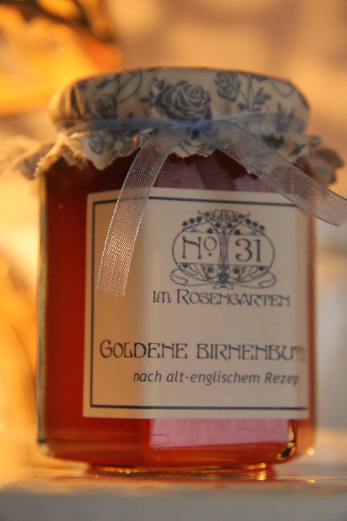 Goldene Birnenbutter