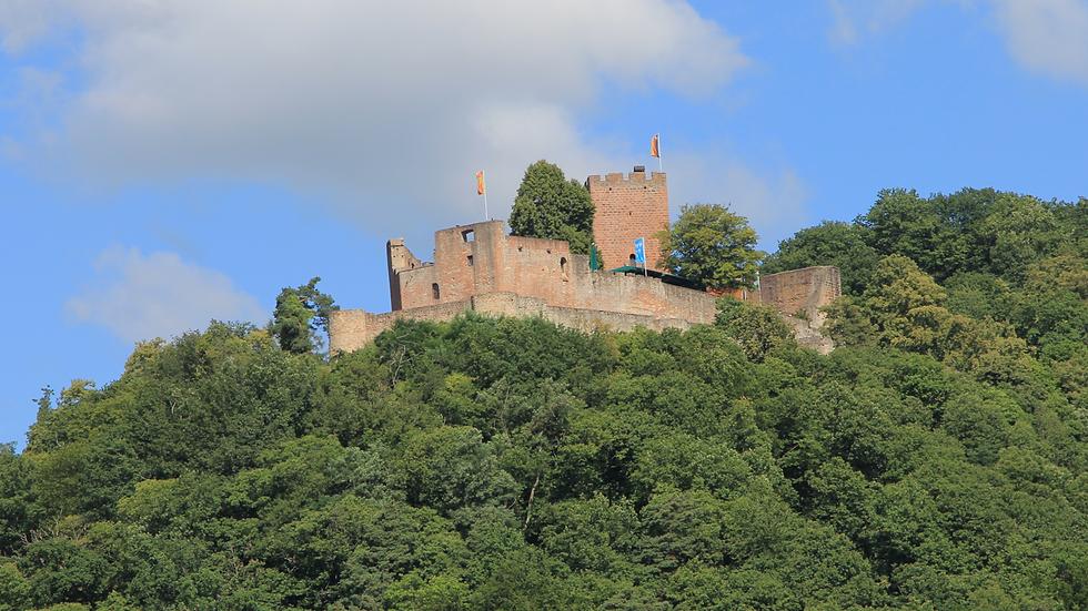Burg Landeck an der Südlichen Weinstraße