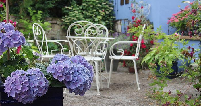 No. 31 - Rosengarten für ein romantisches Frühstück