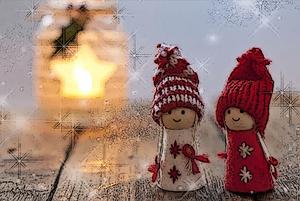 Weihnachtliche Zweisamkeit Weihnachtsarrangement Christmas togetherness special